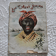 Life of Aunt Jemima Booklet