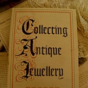 SALE Jewelry Reference Book �Collecting Antique Jewelry� by Mona Curran