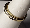 Channel Set Diamond 14K Gold Anniversary Wedding Band 5