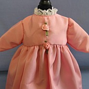 REDUCED Small Handmade Pink Baby Dress
