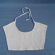 SALE Antique Victorian Every Day Cotton Baby Bib  Circa 1900s