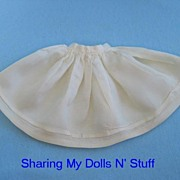 Vintage Hand Made Sateen Small Petticoat  Circa 1940s
