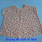 Vintage Hand Made Dress For Your 1940s Composition Doll