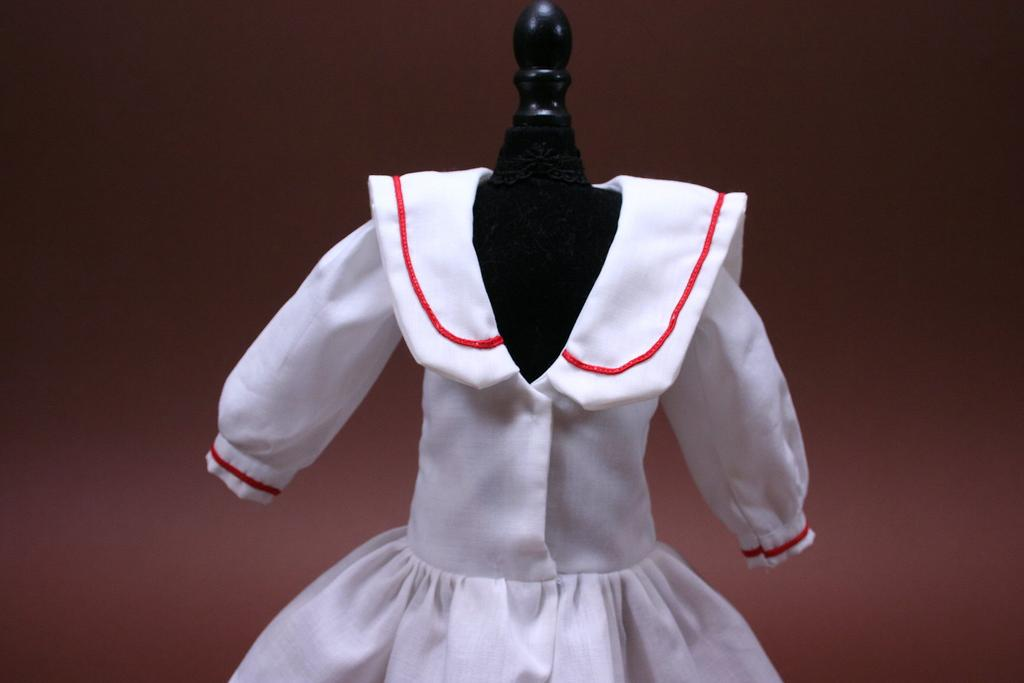 Vintage Hand Made Smaller Sailor Dress Circa 1970s
