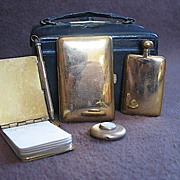 Antique Small Vanity Case Circa 1890s
