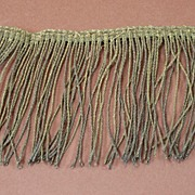 Late 1800s Gold Decorative Fringe