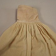 SALE Antique Wool Half Petticoat Circa 1900s