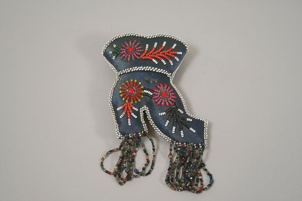Iroquois Indian Boot Whimsy Circa 1900s