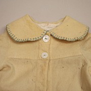 Antique Cream Wool Jacket Circa 1890s