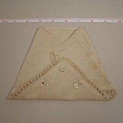SALE Antique Hand Made Muslin Diaper Circa 1900s