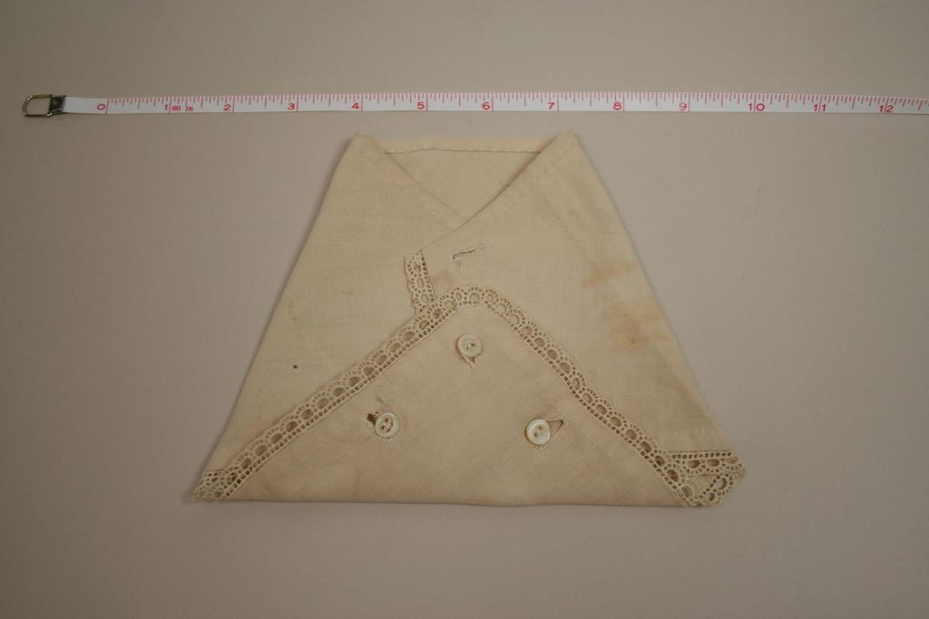 Antique Hand Made Muslin Diaper Circa 1900s