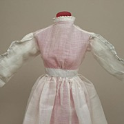 Antique Sheer Cotton Dress Circa 1890s