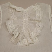 Early Sheer Net Modesty Insert Piece Circa 1920s