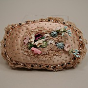 Art Deco Handmade Pincushion Circa 1920s