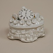 Early Conta & Boehme Porcelain Trinket Box Circa 1880s