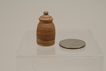 Early Natural Tone Dollhouse Pottery Urn