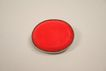 Vintage Red Glass Brooch Circa 1930s