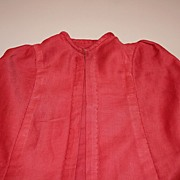 Early Cranberry Doll Cape Circa 1930's