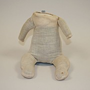 Antique Cloth Muslin Doll Baby Body