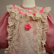 REDUCED Vintage French Style Dress For Your Larger Doll
