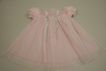 Early Pink Cotton Doll Dress Circa 1920s