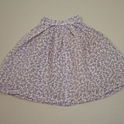 Very Early Handmade Skirt Circa 1900