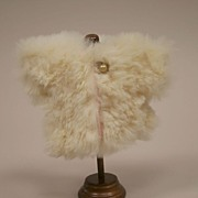 Vntage Rare Cream Fur Jacket Circa 1950
