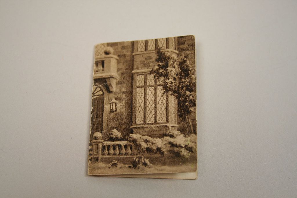 Vintage Dollhouse Miniature 1945 Calendar Book