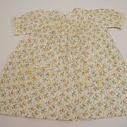 Early Print Dress For Your 1940's Doll