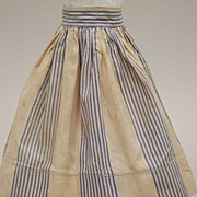 REDUCED Antique Doll Skirt Circa 1890