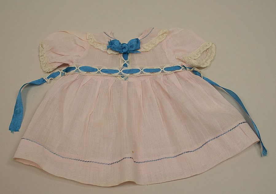 Early Sheer Cotton Pastel Pink Doll Dress