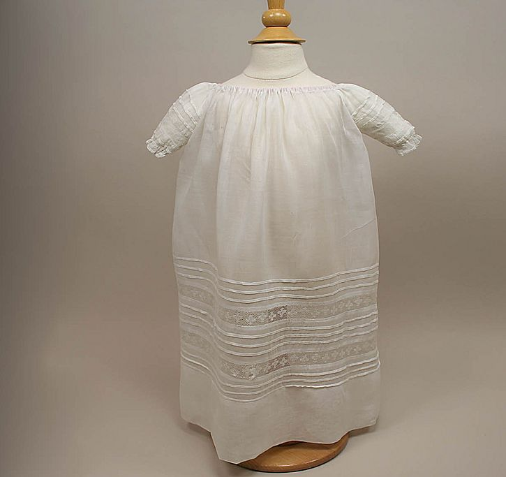 Smaller Antique Baby Gown