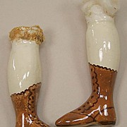 Vintage Porcelain China Doll Head Legs