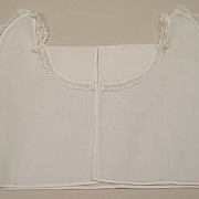 Antique French Cotton Doll Chemise