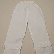 Early Long Sheer Cotton Doll Pantaloons