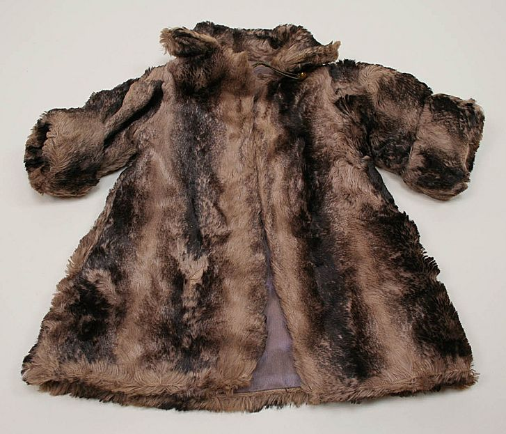 Antique French Fur Coat Circa 1900