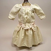 SALE Wonderful Very Early French Silk Party Dress