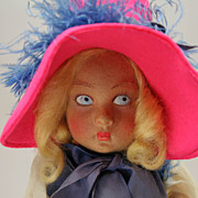 Vintage Lenci Doll Lucia Face