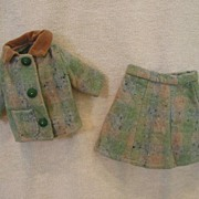 1940's Three Piece Wool Suite For Compo Doll
