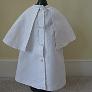 Vintage Cotton Larger Jacket With Cape