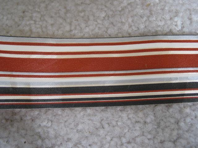 Vintage Brown Tonal Stripe Ribbon
