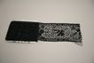 Very Early Lace Beaded Jet Trim Circa 1920's