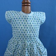 Great Vintage All Cotton Dress For Your 1950's Fashion Doll