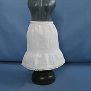 Vintage Smaller Half Petticoat For Your Antique Doll  Circa 1950's