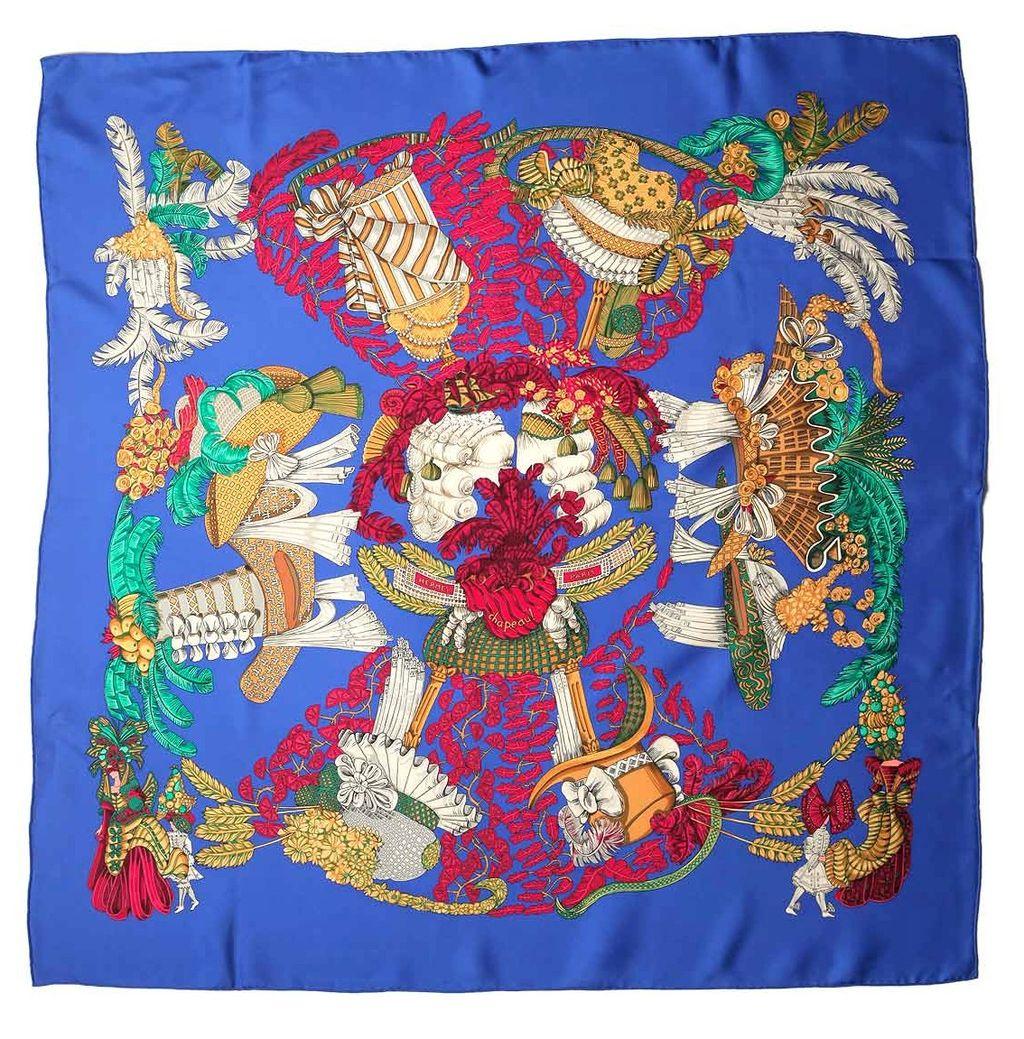 hermes silk scarves images