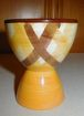 Vernonware Metlox Organdie Pattern Single Egg Cup USA