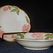 Franciscan Desert Rose Fruit Sauce Dessert Bowl - 4 USA