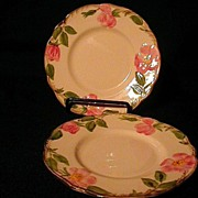 Franciscan Desert Rose 8 inch Salad Plates Made in USA
