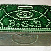 SALE McCoy Bowery Savings Bank, Replica, First Money Chest 1834