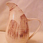 Vernonware Metlox Barkwood Pattern Pitcher California USA